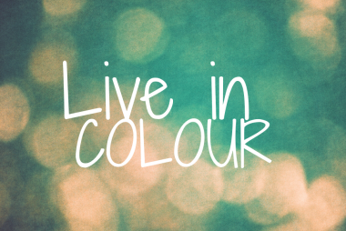 WITH COLOUR FOR HEALTH & WELLBEING