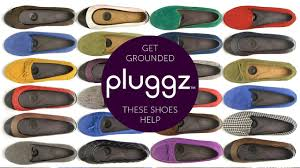Pluggz shoes are great for earthing or grounding!